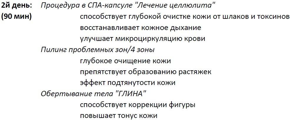 Spa-программа «Клеопатра»